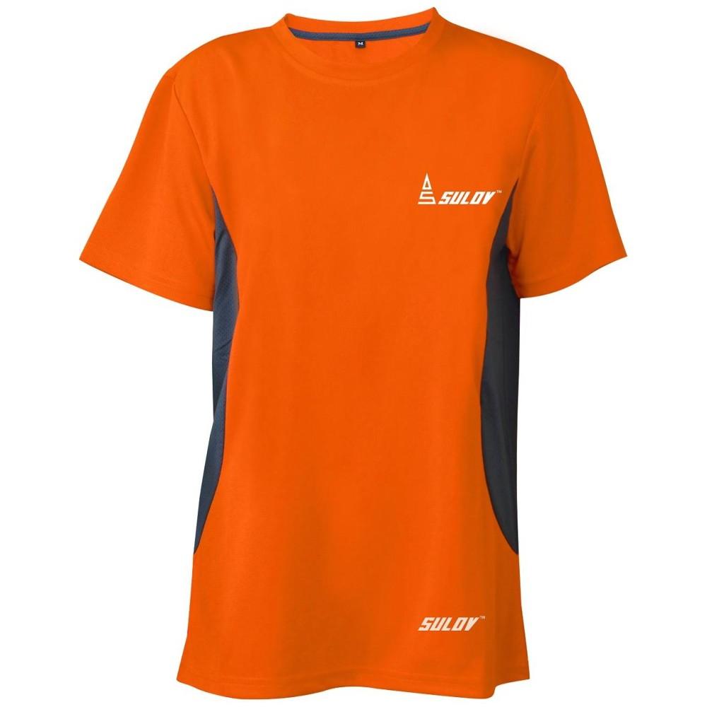 Pánské běžecké triko Sulov Runfit oranžové
