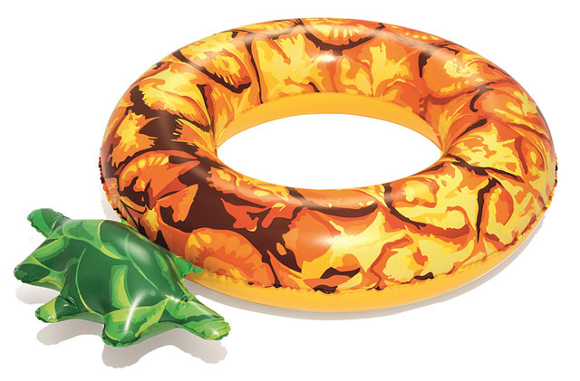 Nafukovací kruh Bestway 36121A - ananas 116cm
