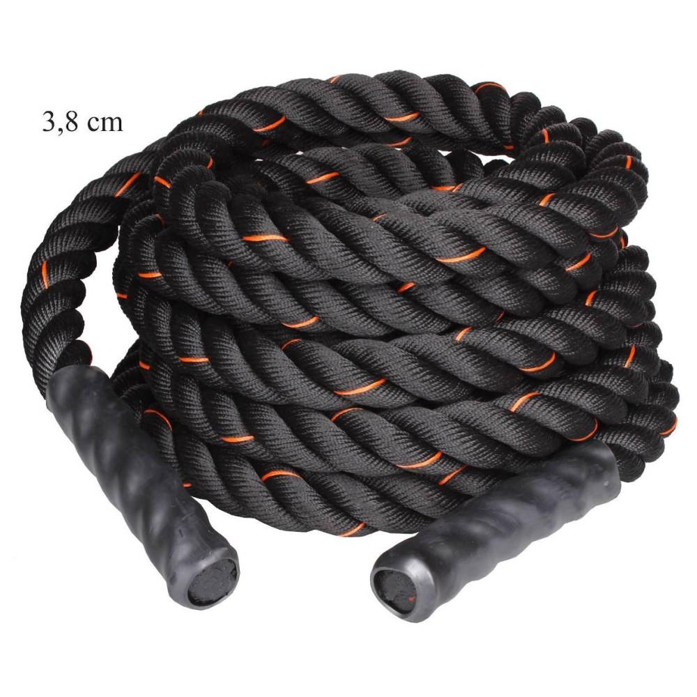 Posilovací lano Battle - tréninkové lano 3,8cm