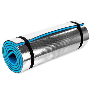 Karimatka XPE/hliník Spokey Kodiak 180x50cm modrá