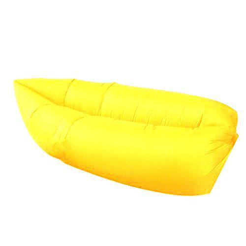 Nafukovací vak Sedco Sofair Banana Lazy žlutý