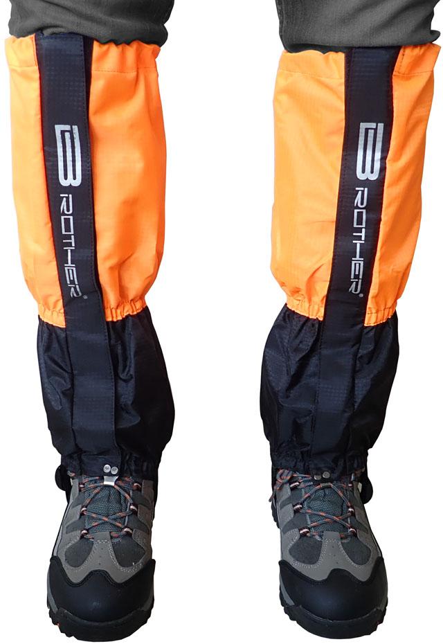 Turistický návlek komfortní černo oranžový Acra LTH2/2 - 1 pár