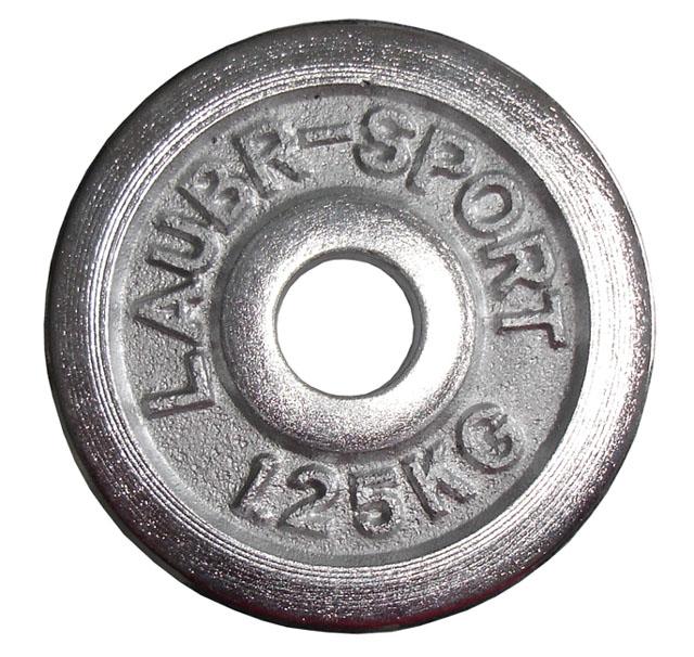 Závaží Acra chrom 30mm - 1,25kg