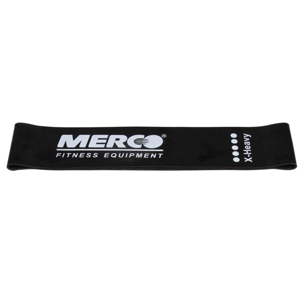 Posilovací guma Mini Band 50x5cm černá těžká