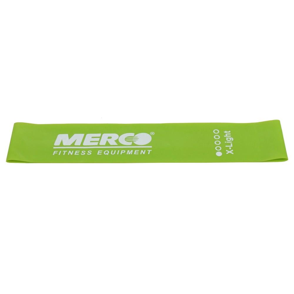 Posilovací guma Mini Band 50x5cm zelená