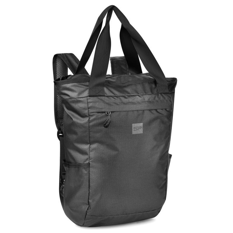 Batoh a taška v jednom Spokey Osaka černý 20l
