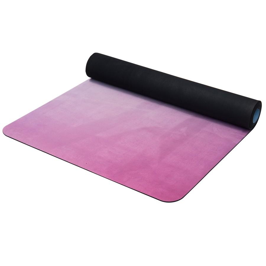 Přírodní guma Yate Yoga Mat vzor Z modro/růžová 4mm