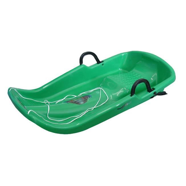 Plastové boby Plastkon Twister zelená
