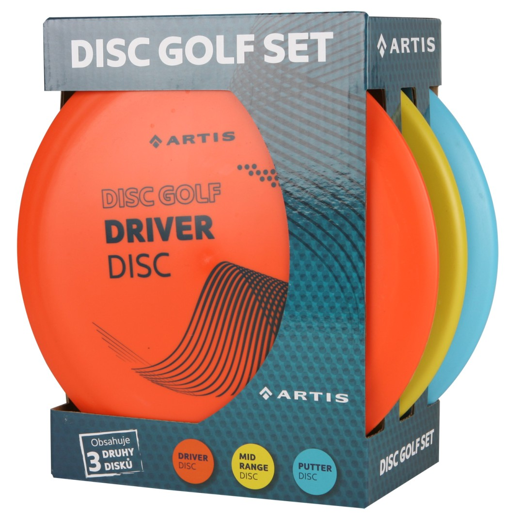 Disc Golf Set Artis 3ks