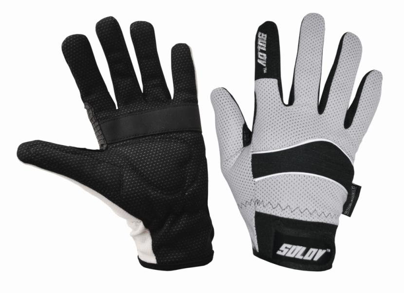 Zimní rukavice Sulov pro běžky i cyklo bílé