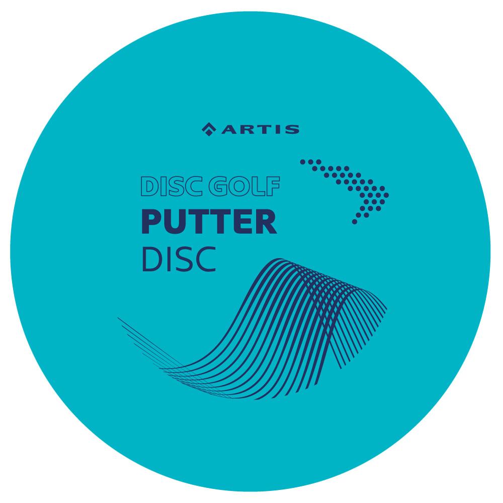 Disc Golf Putter Artis modrý