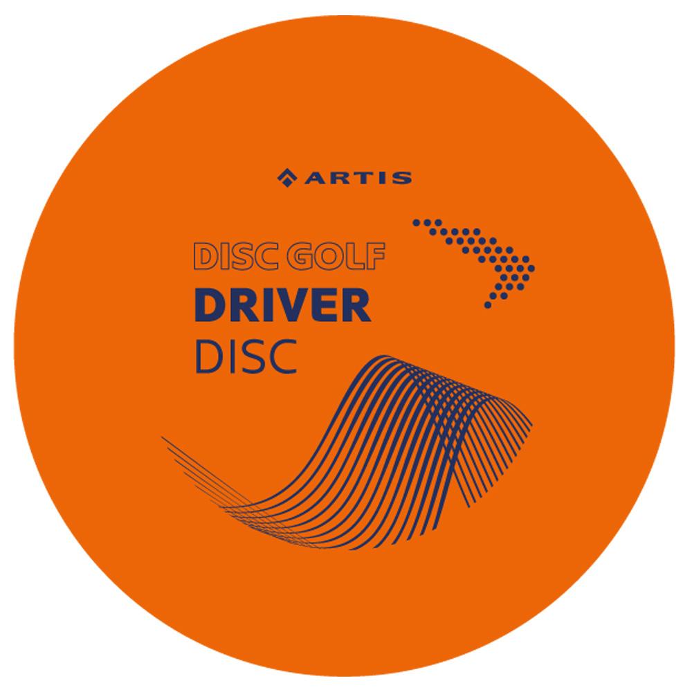 Disc Golf Driver Artis oranžový