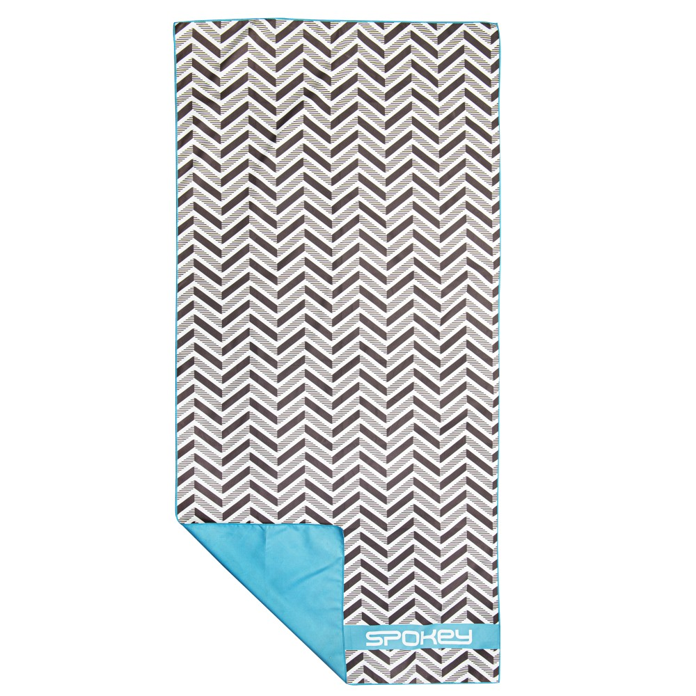 Rychleschnoucí sportovní ručník Spokey Zigzag 80x160cm