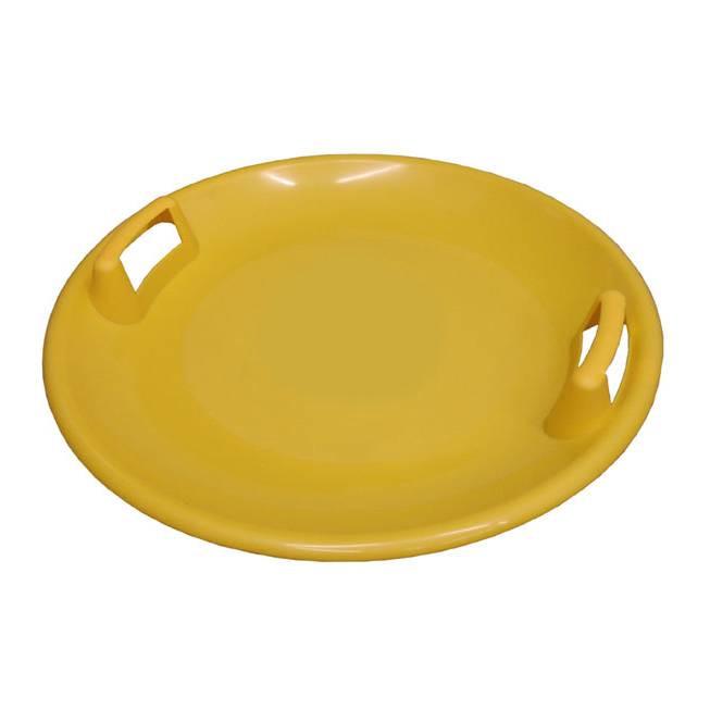 Plastový talíř Acra A2034 Superstar žlutý 60cm
