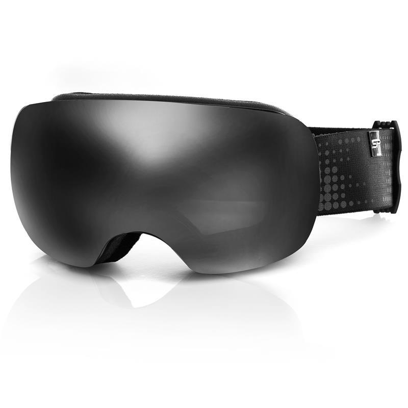 Lyžařské brýle Spokey Logan černé