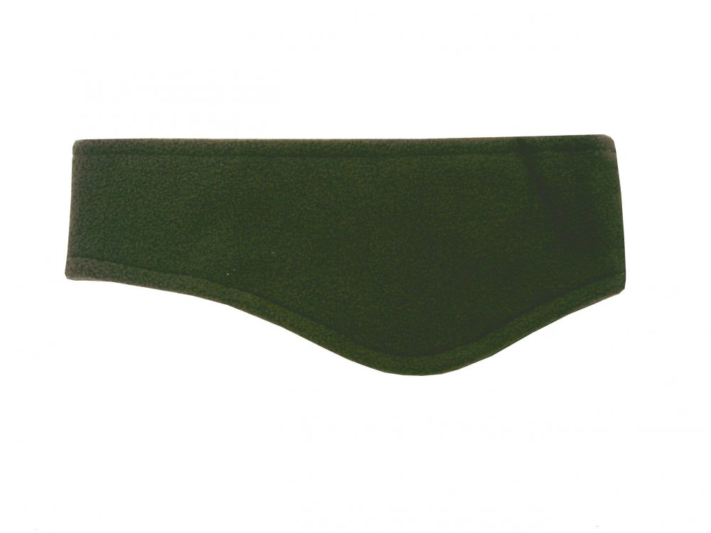 Zimní fleecová čelenka Mess CP086 zelená