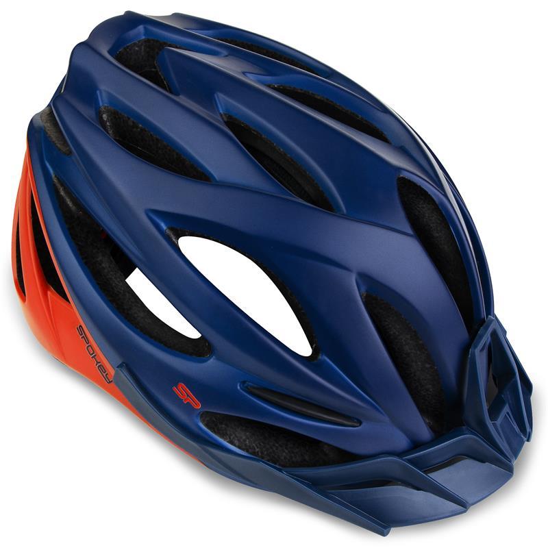 Cyklistická přilba pro dospělé a juniory Spokey Spectro 55-58cm