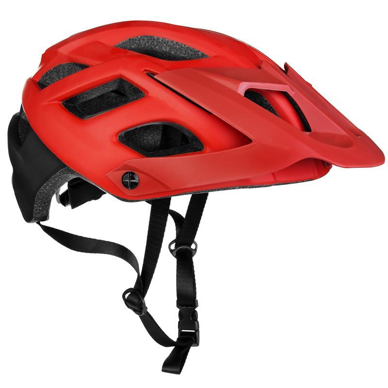 Cyklistická přilba Spokey Singletrail dospělé a juniory čer. 58-61cm