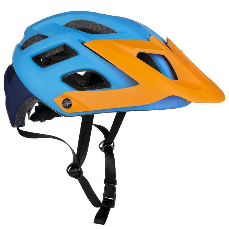 Cyklistická přilba Spokey Singletrail dospělé a juniory modrá 58-61cm