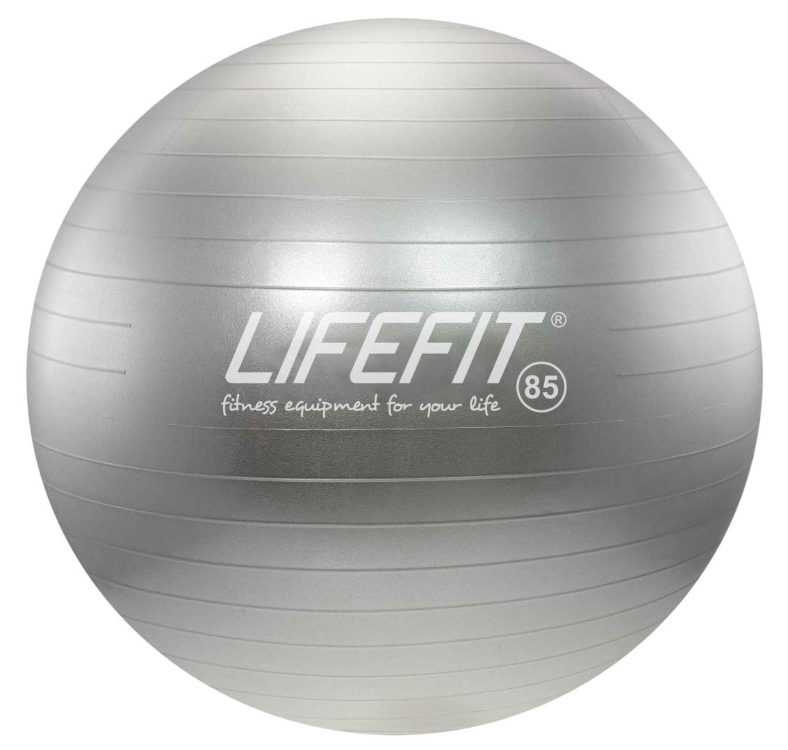 Gymnastický míč Lifefit Anti-Burst 85cm stříbrný