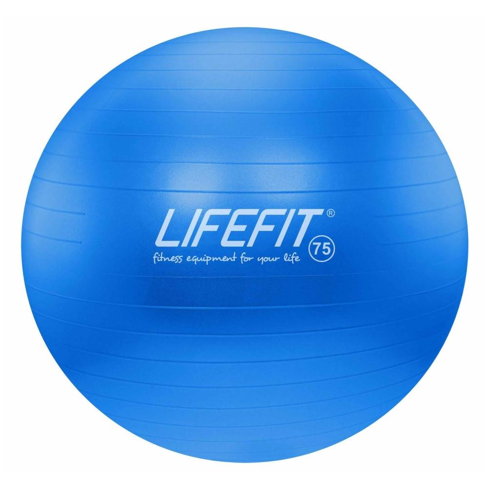 Gymnastický míč Lifefit Anti-Burst modrý 75cm