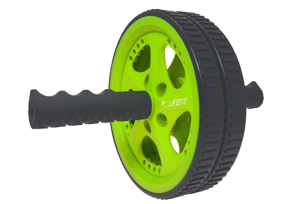 Posilovací kolečko Lifefit Exercise Wheel Twice