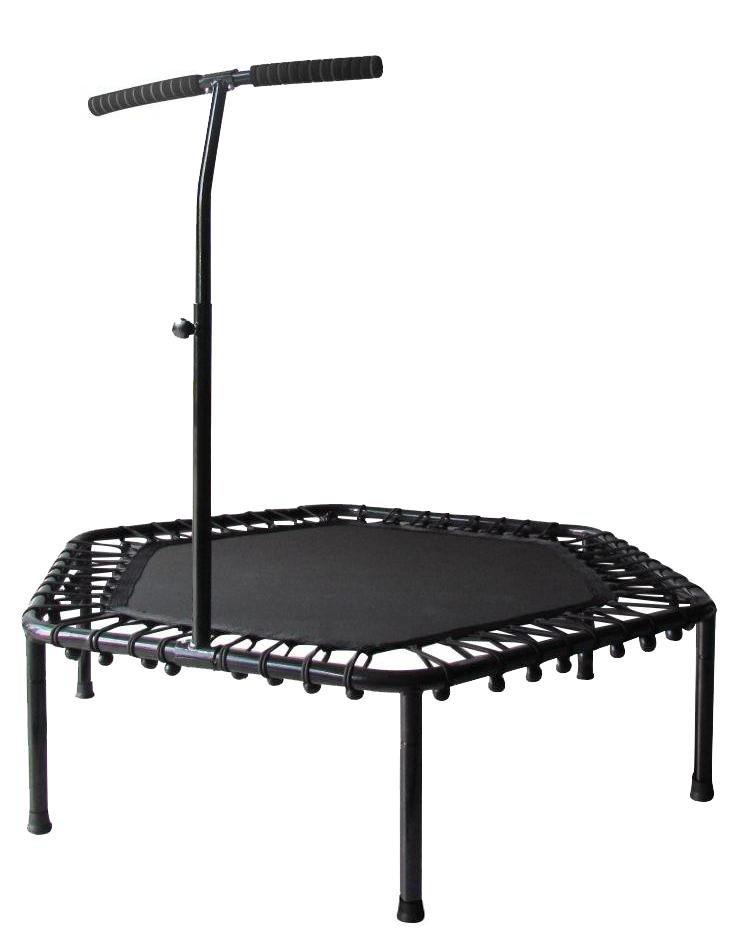 Trampolína Sedco fitness s madlem Hexagon 122cm