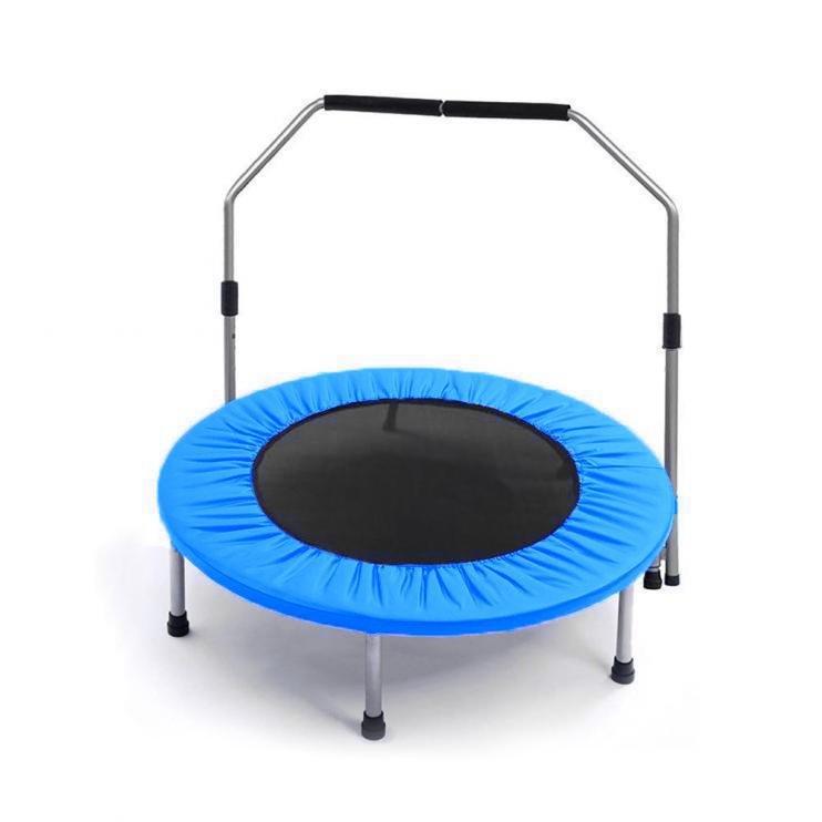 Trampolína Skládací Fitness s madlem 150cm