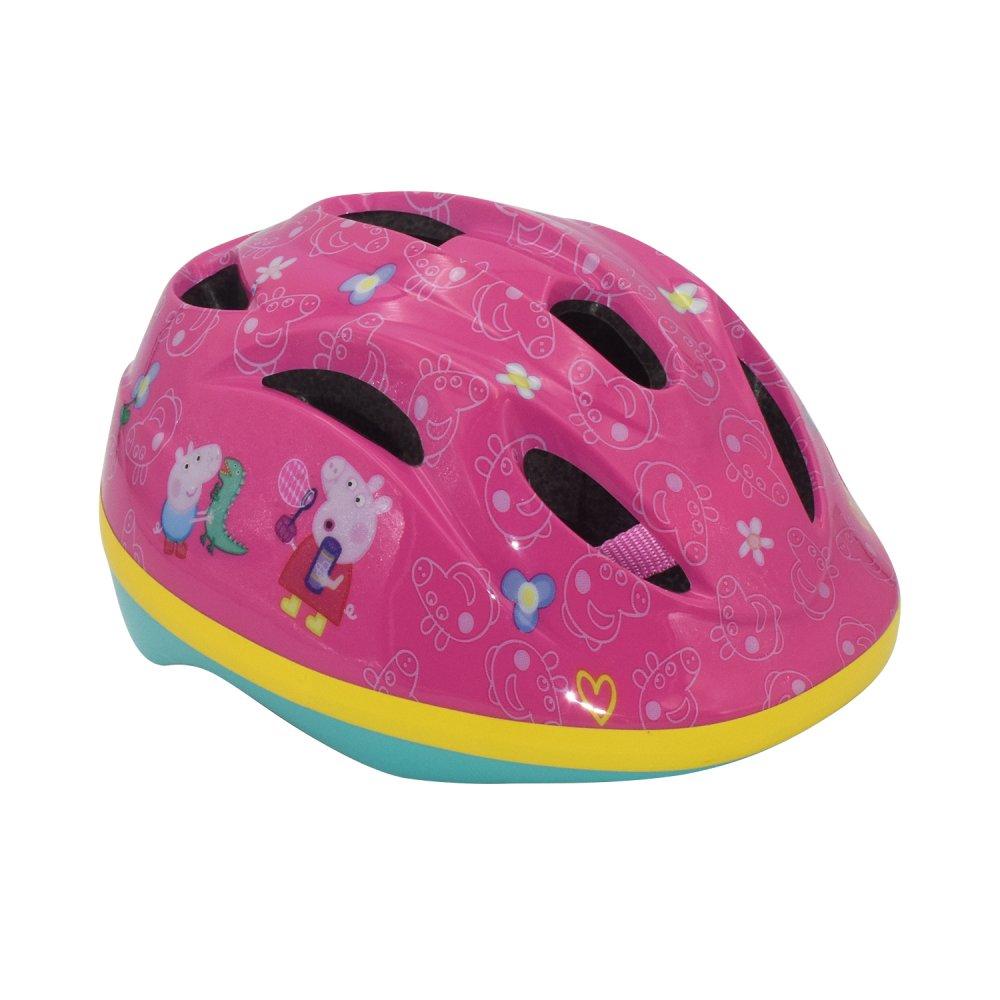 Dětská cyklistická helma Volare Prasátko Peppa 51-55cm