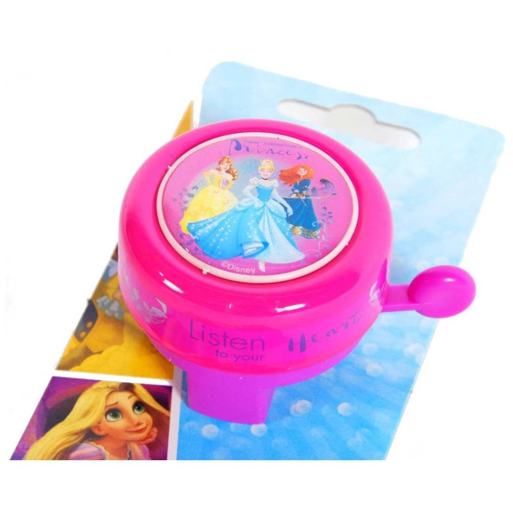 Zvonek na dětské kolo Volare Princezny Disney