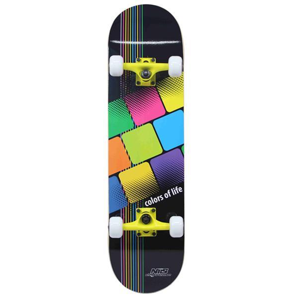 Skateboard NILS Extreme CR3108 SB Color of Life