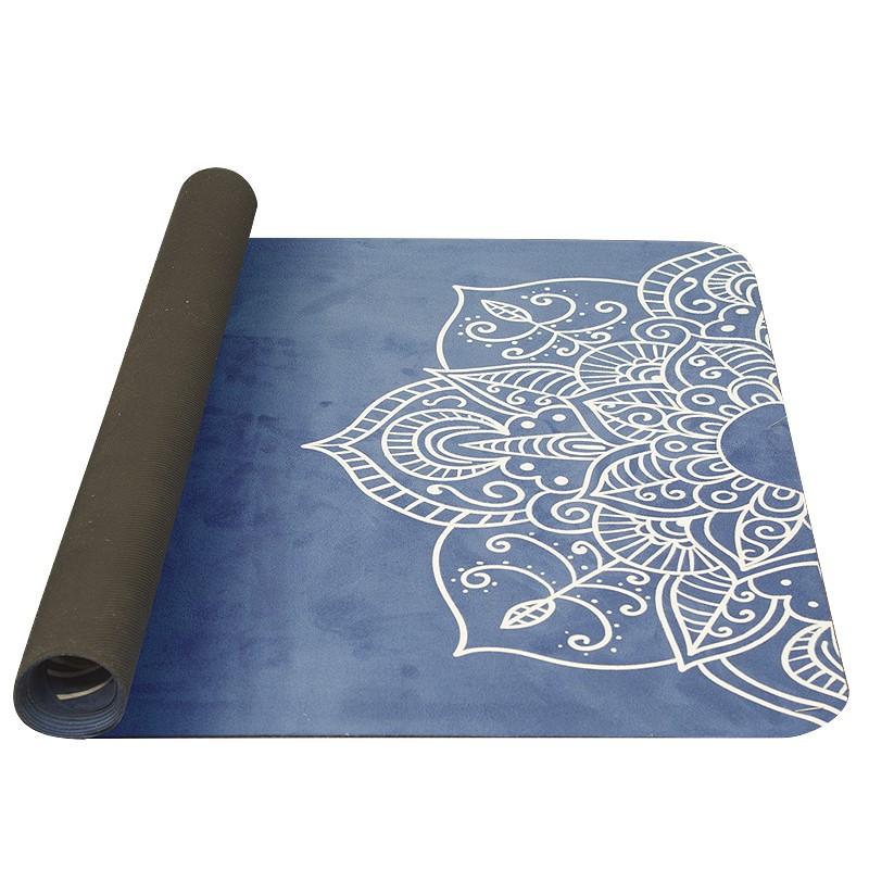 Podložka na jógu Yate Yoga Mat modrá 1mm