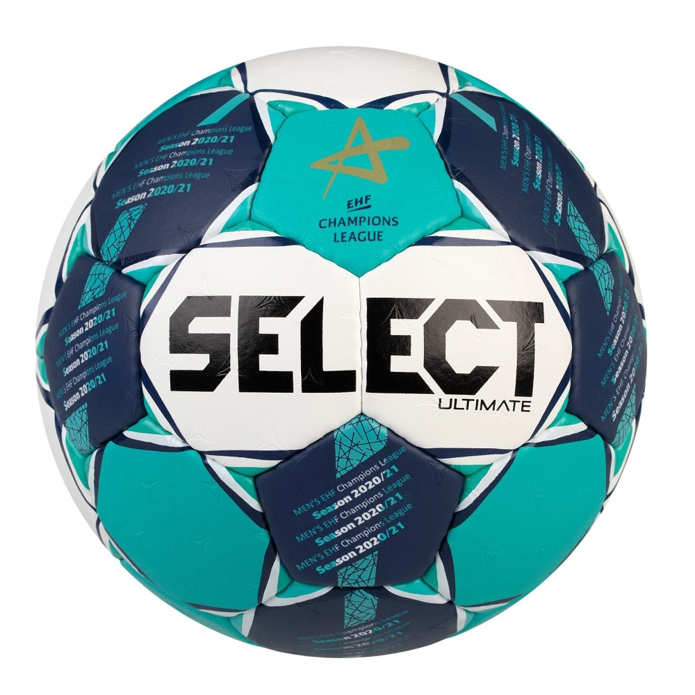 Házenkářský míč Select HB Ultimate CL Men bílo-zelená