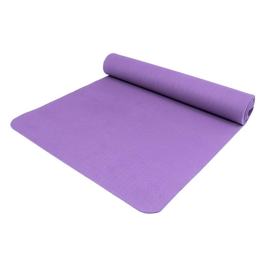 Karimatka Yate Yoga Mat TPE tm.fialová 195x61x0.6cm