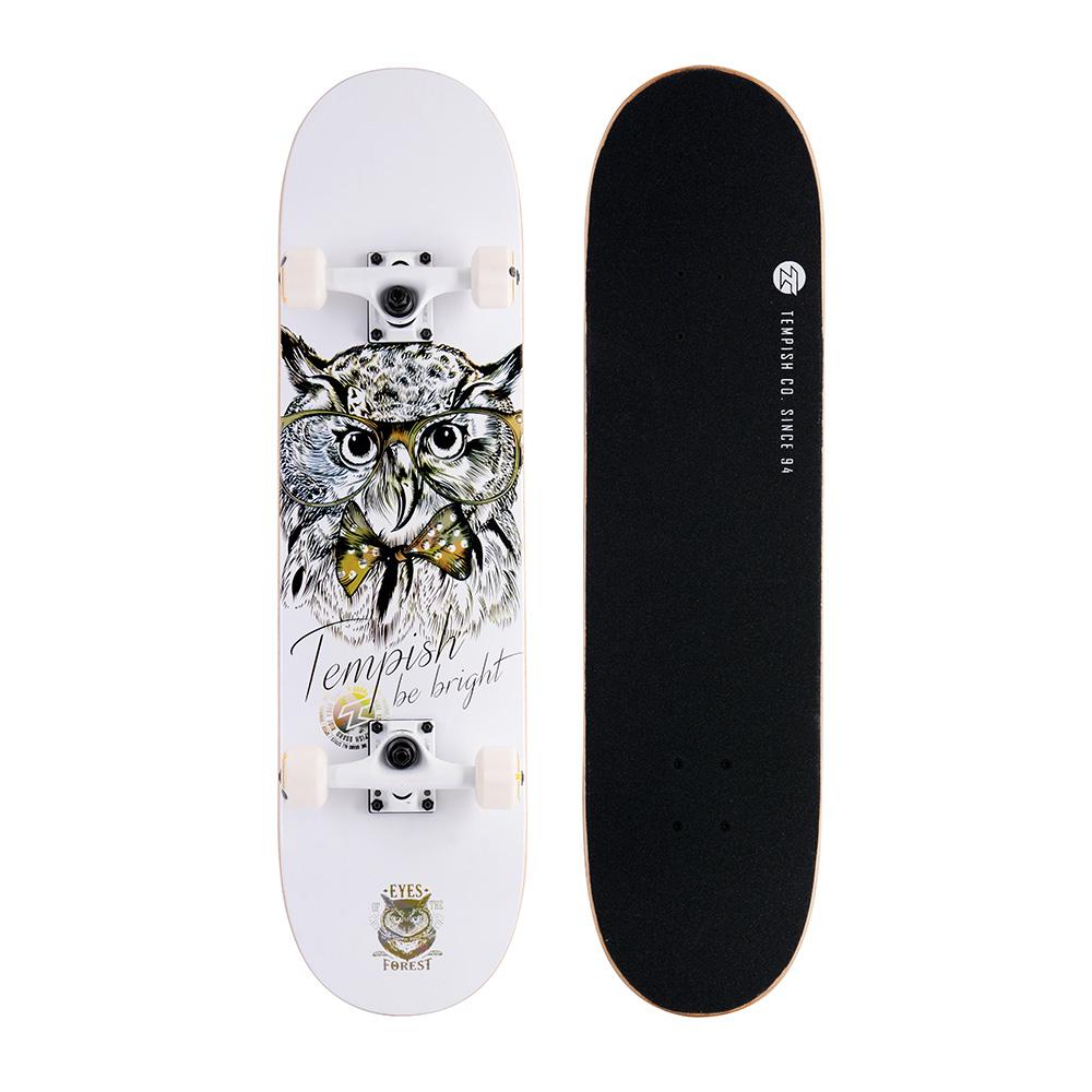 Skateboard Golden Owl