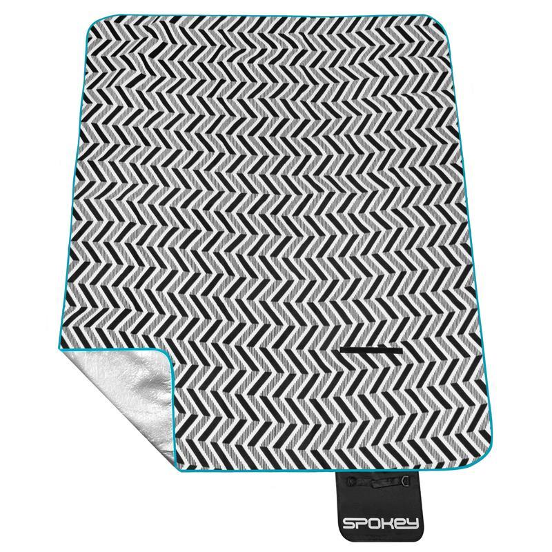 Pikniková deka s popruhem Spokey Picnic Zigzag 180x200cm