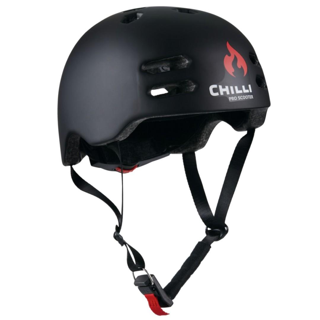 Chilli helma Inmold černá M (55-58 cm)