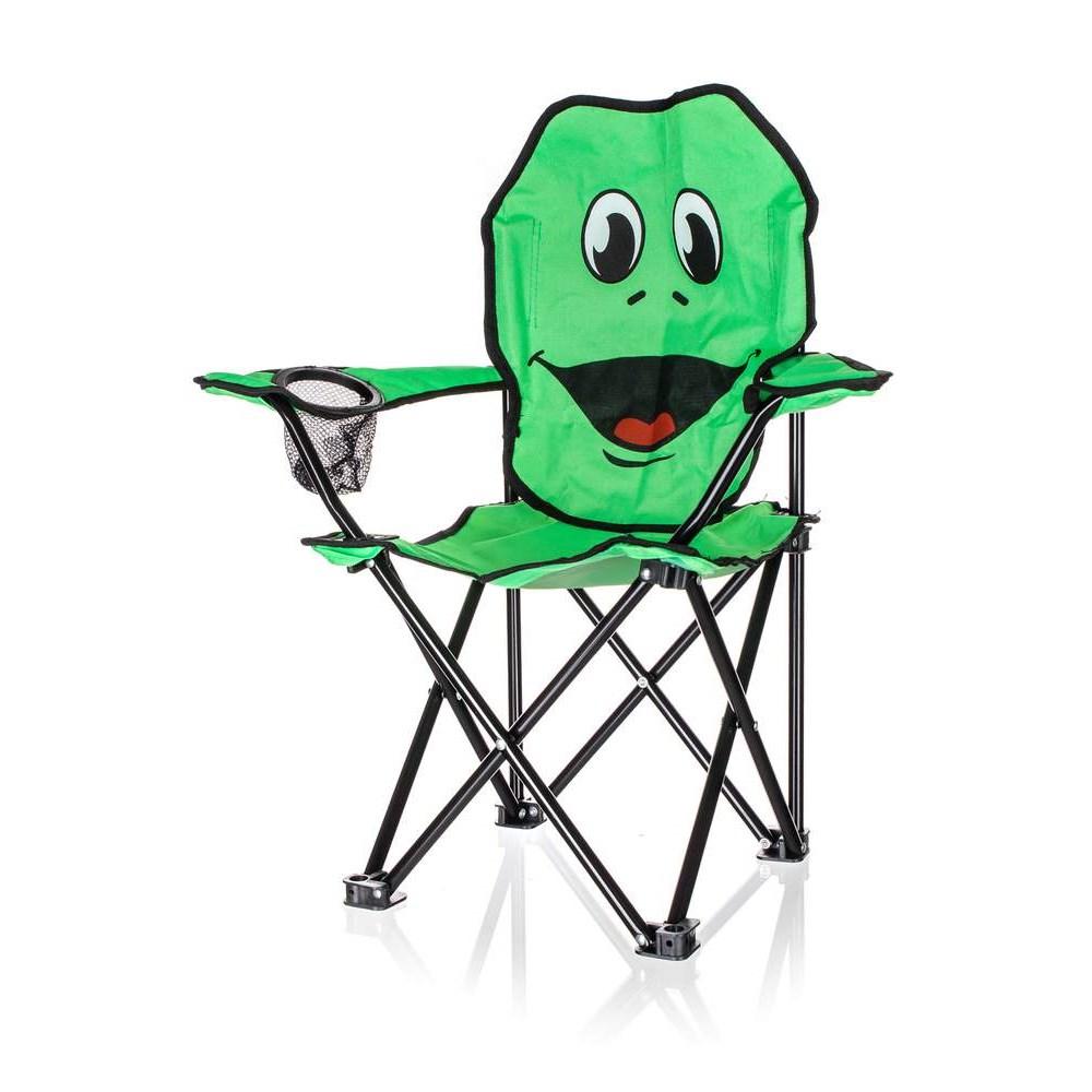 Křeslo dětské Happy Green žába
