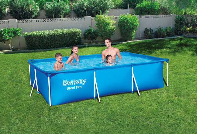 Bazén Family Bestway 56404 300x201x66cm