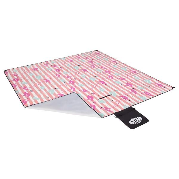 Pikniková deka Nils Camp NC2313 růžová