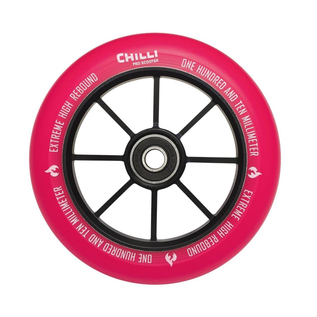 Kolečko Chilli Base 110mm růžové