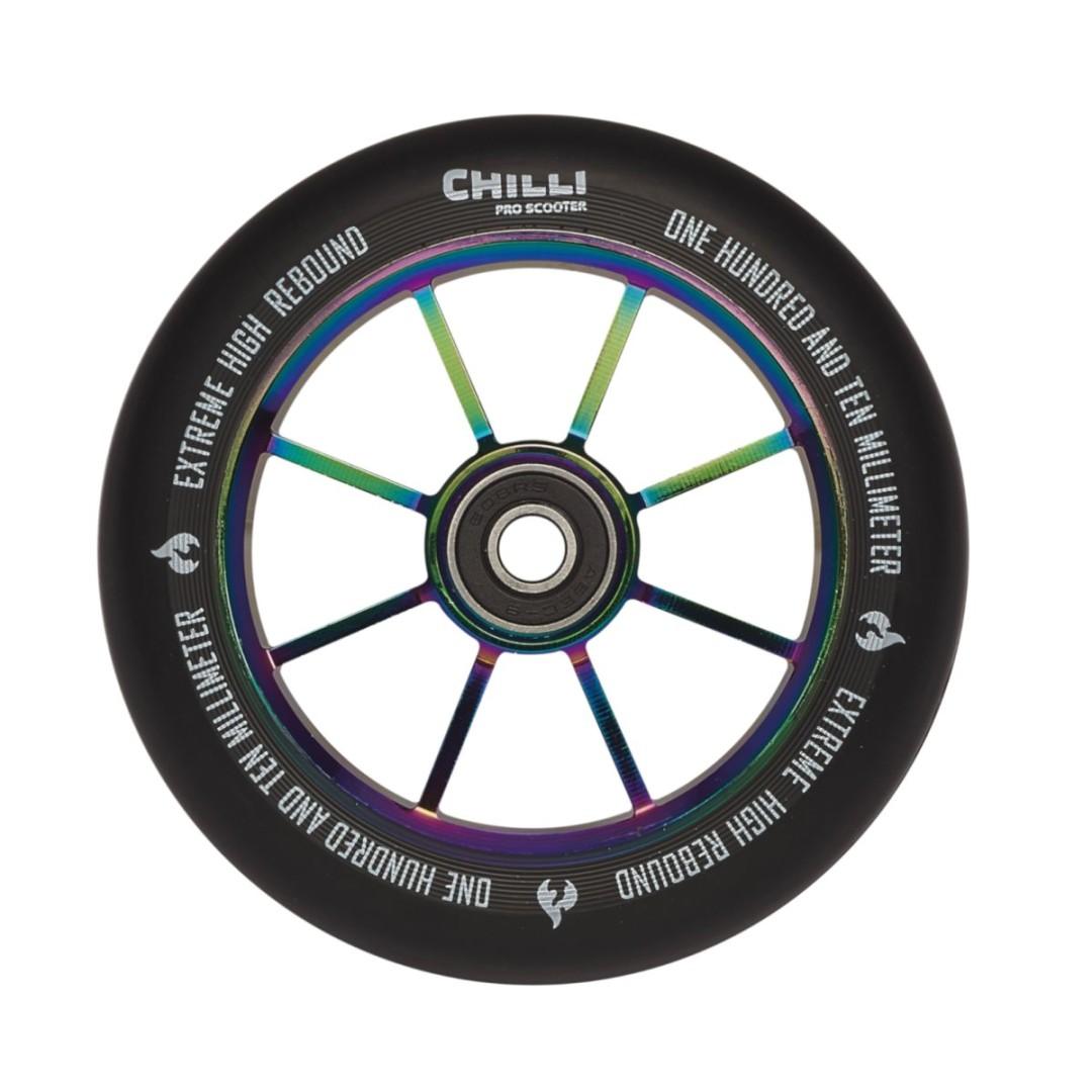 Kolečko Chilli Rocky 110mm neochrome