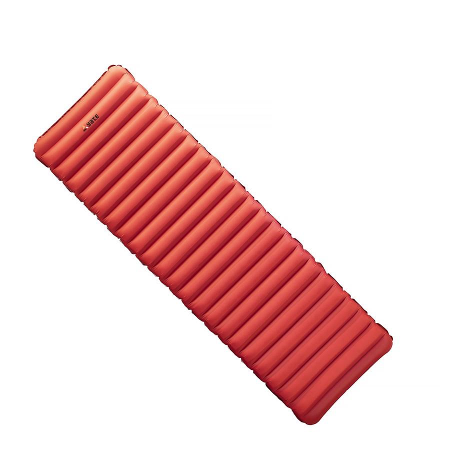 Nafukovací karimatka Yate Nomad 193x58x9cm červeno/šedá
