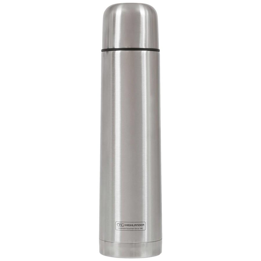 Termoska Highlander Duro flask 1000ml stříbrná