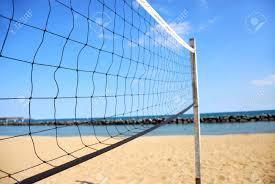 Síť volejbalová Beach černá