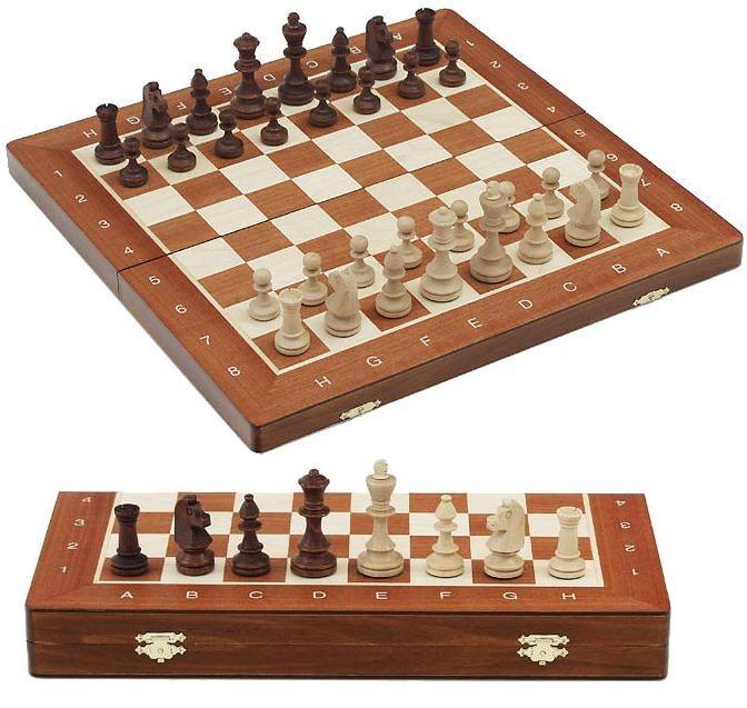Šachy dřevěné Tournament č.5
