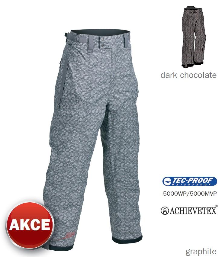 Pánské snowboardové kalhoty Hi-Tec Tamper - šedá