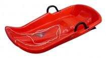 Plastové boby Plastkon Twister červené