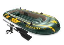 Nafukovací člun Intex 68351 Seahawk 4 Set