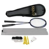 Badmintonový set Sedco + síť B229